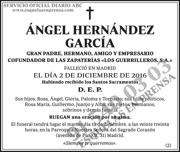 Ángel Hernández García